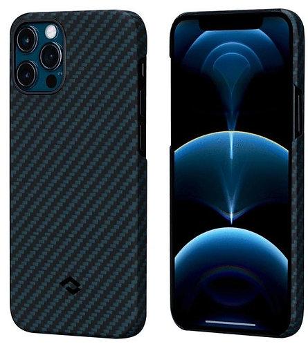 Чехол Pitaka MagEZ (KI1208PM) для iPhone 12 Pro Max (Black/Blue)