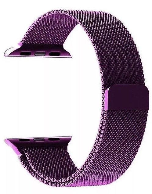 Ремешок миланское плетение для Apple Watch 38/40mm (фиолетовый)