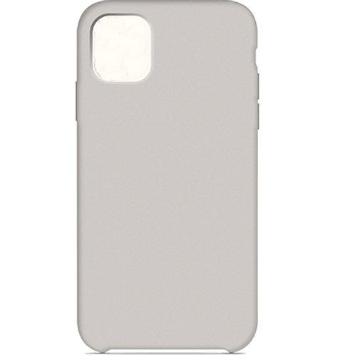 Накладка iPhone 11 Silicone Case бежевый