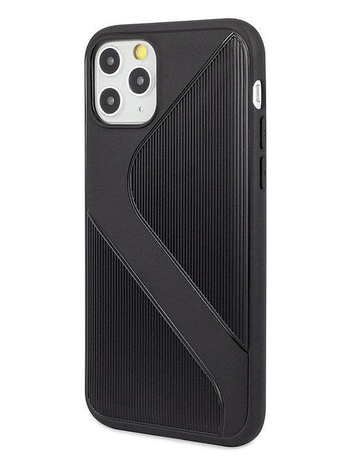 Чехол для iPhone 11Pro  Heavy силикон (Черный)