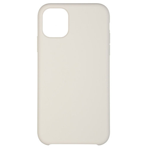 Накладка iPhone 11 Pro Silicone Case серый