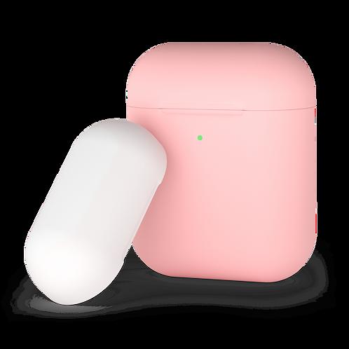 Чехол для AirPods, двухцветный