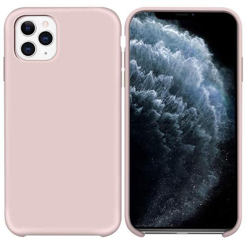 Накладка iPhone 11 Pro Silicone Case розовый песок