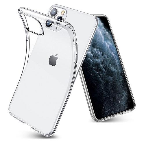 Силиконовый чехол для iPhone 11 Pro прозрачный