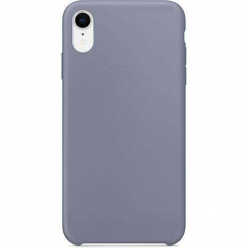 Накладка iPhone XR Silicone Case лавандовый