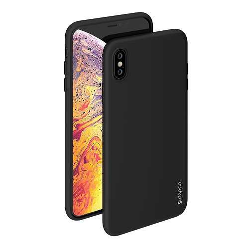Чехол Gel Color Case для iPhone XS Max черный