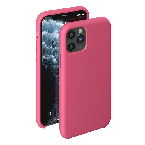 Чехол Liquid Silicone Case для Apple iPhone 11 Pro бургунди