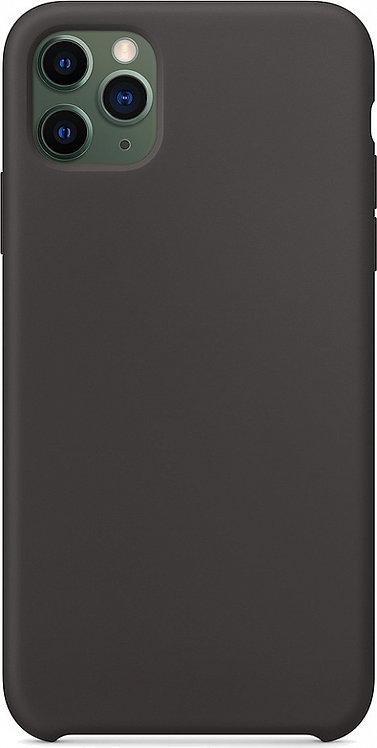 Накладка iPhone 11 Pro Max Silicone Case черный