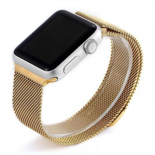 Ремешок COTEetCI Magnet Band для Apple Watch 38/40mm Gold