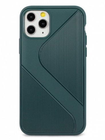 Чехол для iPhone 11Pro  Heavy силикон (Зеленый)