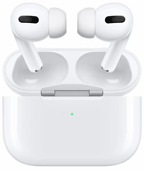 Наушники Apple AirPods PRO в футляре с возможностью беспроводной зарядки