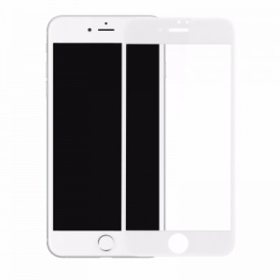 Ainy 5D защитное стекло для iPhone 6/7/8/SE 2020 с белой рамкой