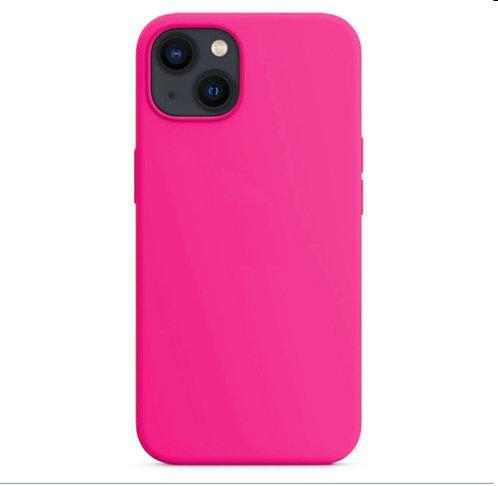 """""""Ярко-розовый"""" чехол на iPhone 13"""