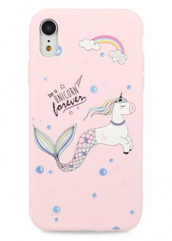 Чехол для iPhone XR Flossy силикон (Unicorn)