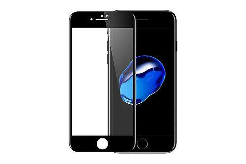 5D защитное стекло для iPhone 6/7/8/SE 2020 с черной рамкой