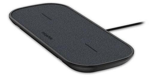 Беспроводное зарядное устройство Mophie dual Wireless Charger (Black)
