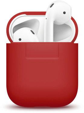 Чехол Elago для AirPods Silicone case (Красный)