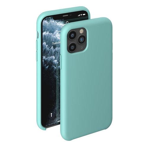 Чехол Liquid Silicone Case для Apple iPhone 11 Pro мятный