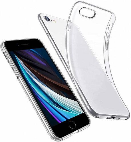 Силиконовый чехол для iPhone 7/8/SE 2020 прозрачный