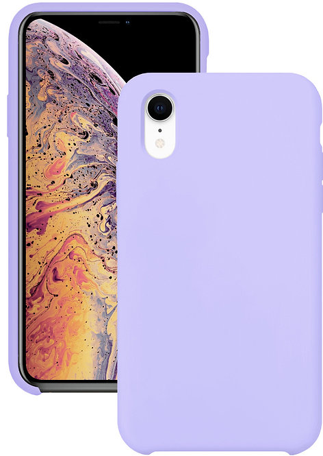 Силиконовый чехол для iPhone XR