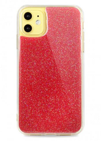 Чехол для iPhone 11 Glint силикон+гель (Красный)