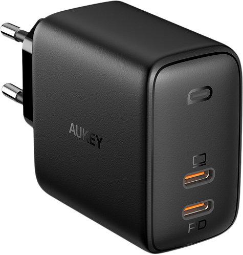 Сетевое зарядное устройство Aukey Omnia Duo PD 65W 2xUSB-C