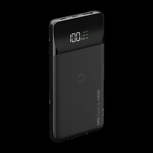 Внешний аккумулятор NRG Turbo Qi 10000 mAh, QC 3.0, Power Delivery 18W, Qi 10W