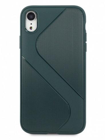 Чехол для iPhone XR Heavy силикон (зеленый)