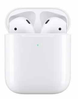 Наушники Apple AirPods 2 (MRXJ2) в футляре с возможностью беспроводной зарядки