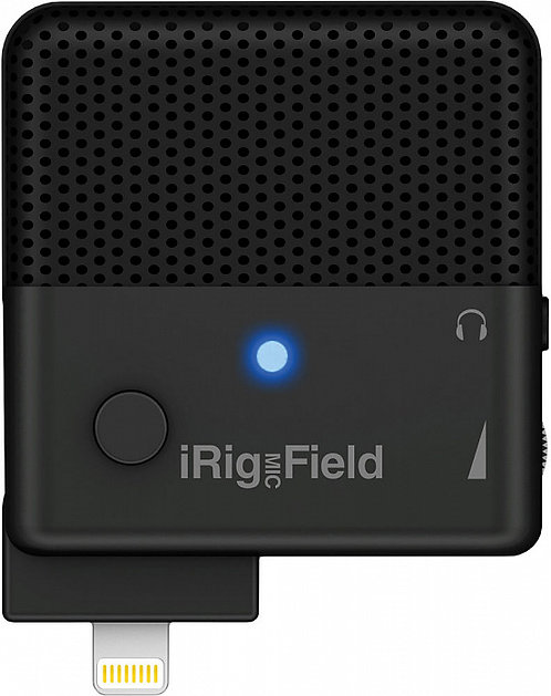 Конденсаторный микрофон IK Multimedia iRig Mic Field для iOS-устройств (Black)