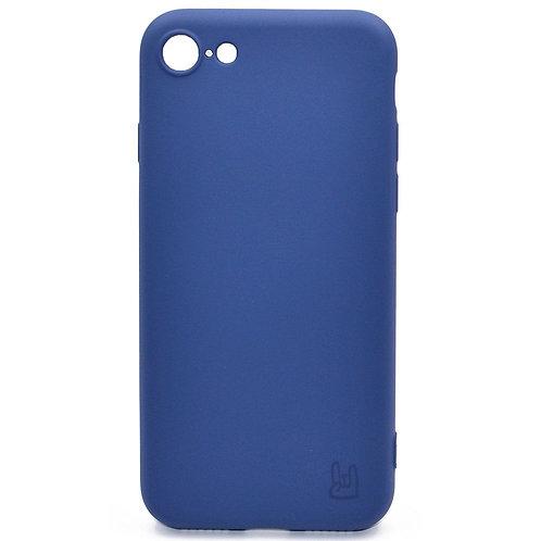 Чехол - накладка для iPhone 6/6S YOLKKI Rivoli силикон Синий