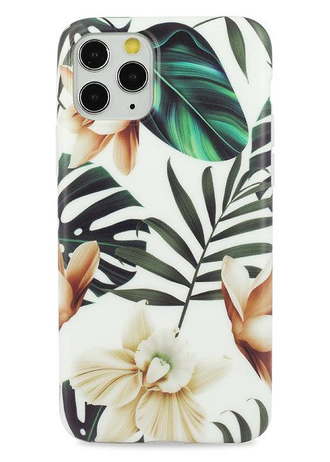 Чехол для iPhone 11Pro Max Glamour силикон (Тропики)