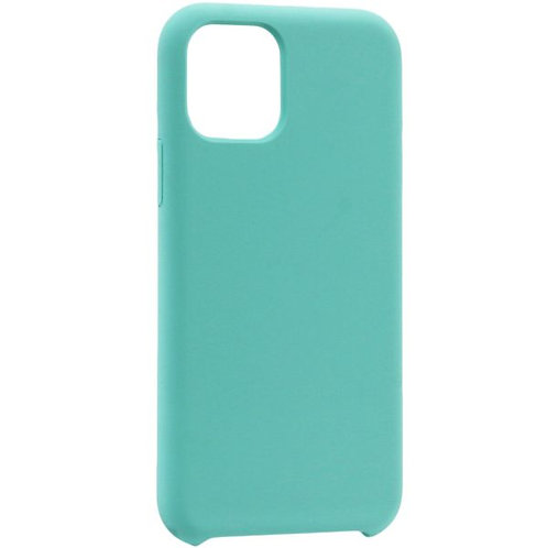Накладка iPhone 11 Pro Silicone Case голубой