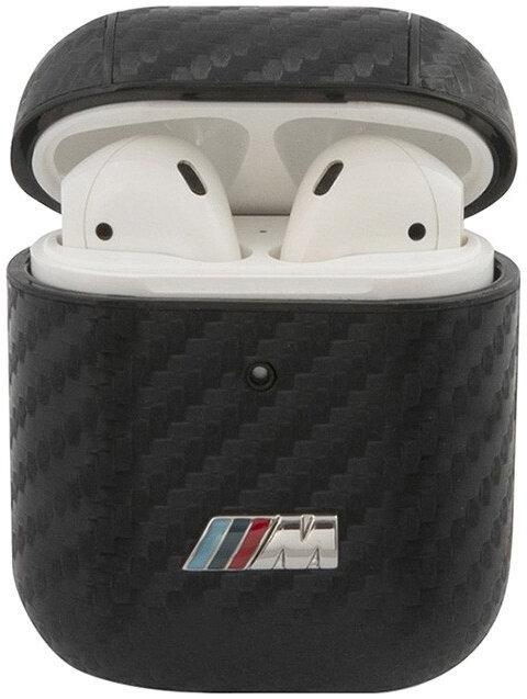 Чехол CG Mobile BMW M-collection PU carbon для AirPods 1/2