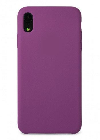 Накладка iPhone XR Silicone Case фиолетовый