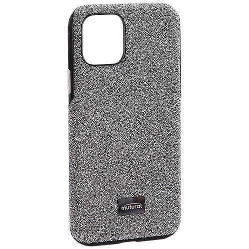 Чехол-накладка силиконовый со стразами Mutural для Iphone 11