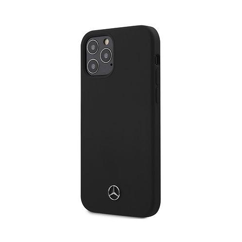 Чехол CG Mobile Mercedes Liquid silicone Hard для iPhone 12/12 Pro