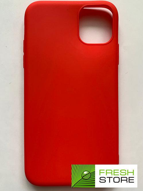 Чехол Gel Color Case для Apple iPhone 11 красный