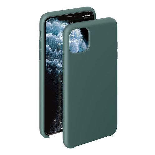 Чехол Liquid Silicone Case для Apple iPhone 11 Pro темно-зеленый