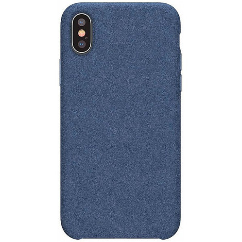 ЧЕХОЛ BASEUS ORIGINAL SUPER FIBER CASE FOR IP XS MAX 6.5 (СИНИЙ)