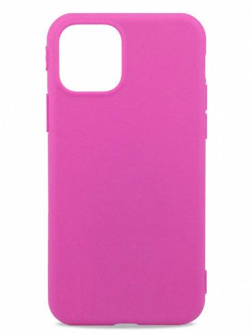 Розовый чехол для iPhone 11 TPU Matte (Фиолетовый)