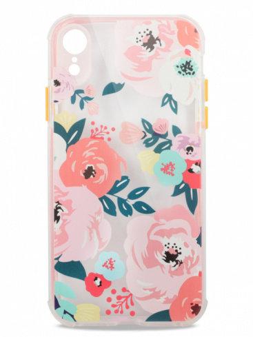 Чехол для iPhone XR Nice garden силикон (Цветы)