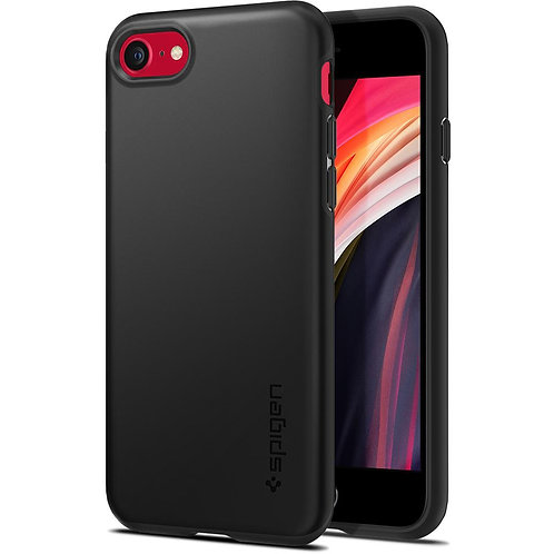 Поликарбонатный чехол-накладка для iPhone 7/8/SE (2020) Spigen Thin Fit