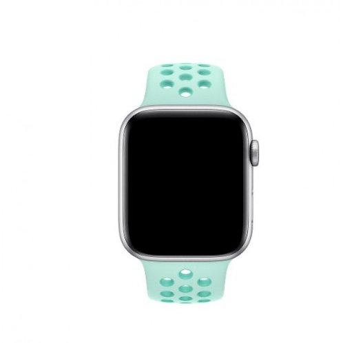 Ремешок силиконовый для Apple Watch 38/40мм мятный