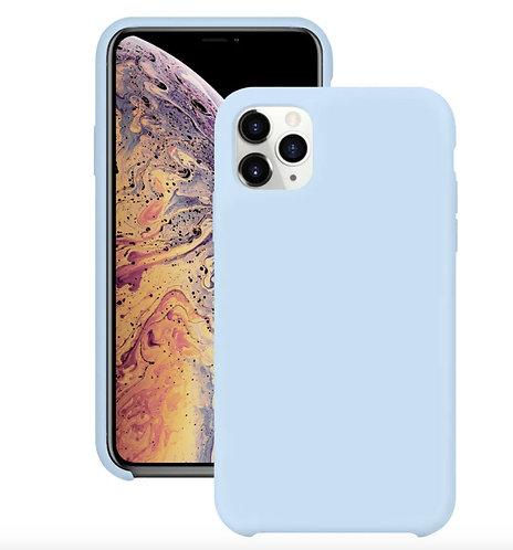 """""""Голубой"""" чехол силиконовый на айфон на Apple iPhone 12/12 PRO MAX"""