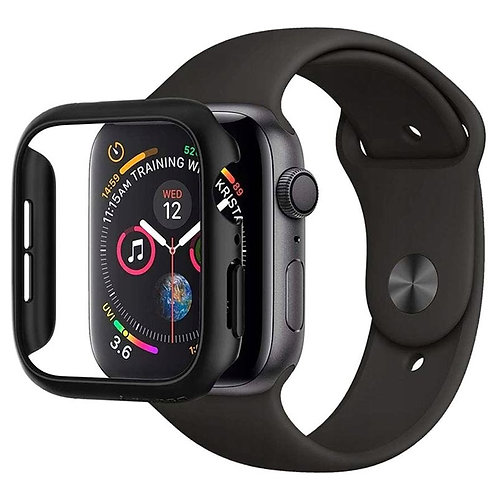 Чехол Spigen для Apple Watch series 4/5 44 mm Black