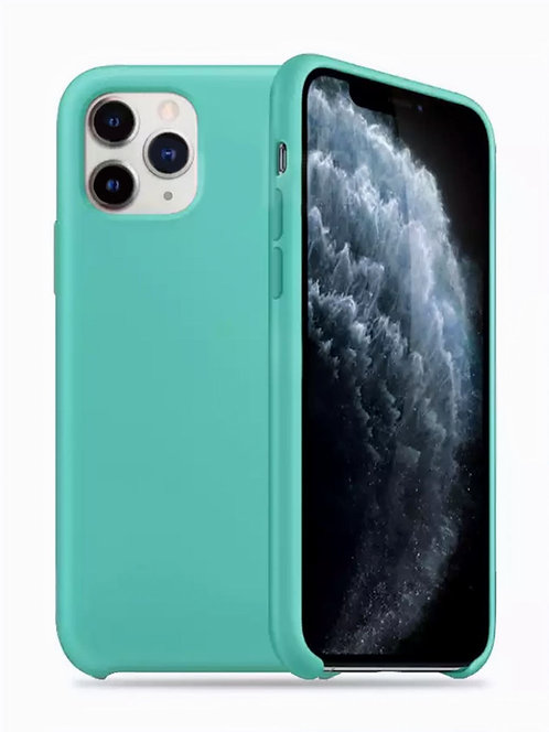 Накладка iPhone 11 Pro Silicone Case мятный