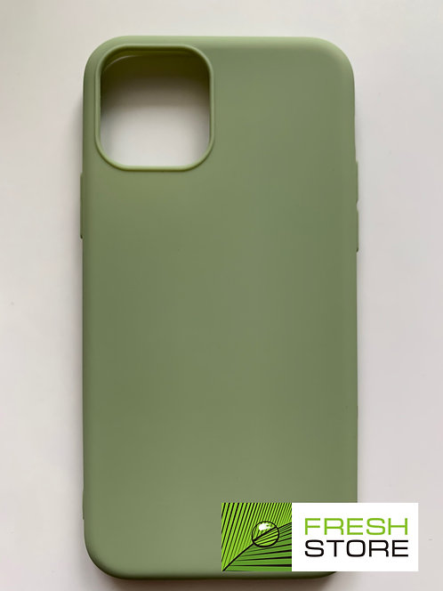 Защитный чехол для iPhone 11 pro с полной защитой зеленый