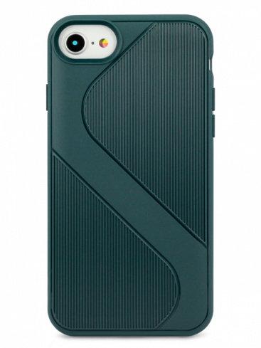 Чехол для iPhone 6/7/8 Heavy силикон (Зеленый)