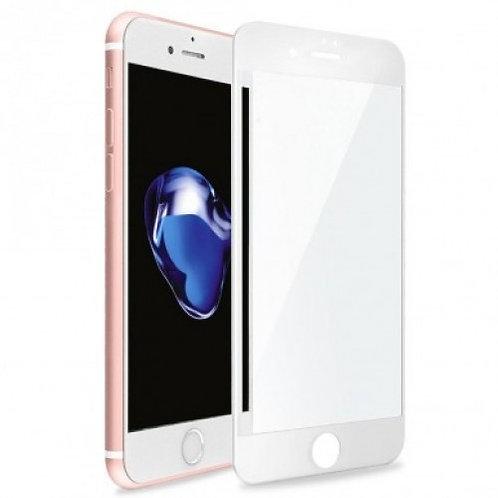 5D защитное стекло для iPhone 6/7/8/SE 2020 с белой рамкой